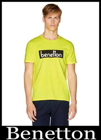 T Shirts Benetton 2019 New Arrivals Mens Summer 26