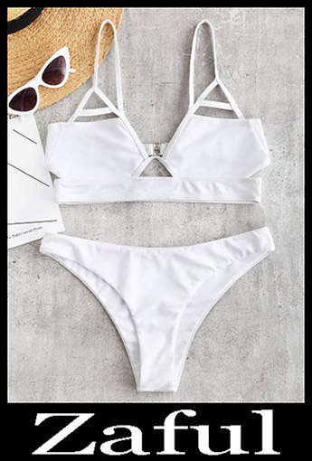 Triangle BikiniZAFUL Cut Out Bralette Bikini Set