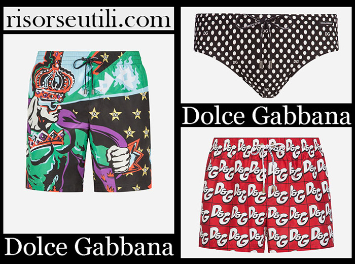 New Arrivals Dolce Gabbana 2019 Men's Swimwear