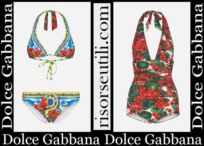 New Arrivals Dolce Gabbana 2019 Women's Swimwear