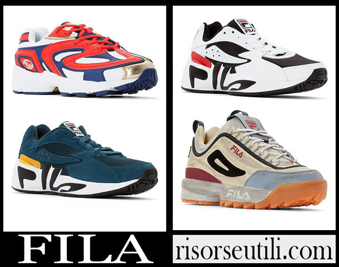 New Arrivals Fila 2019 Men's Shoes