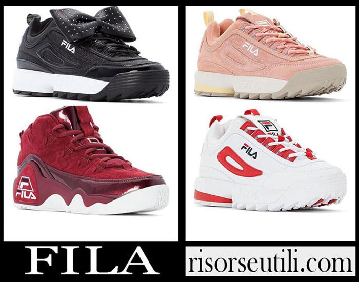 New Arrivals Fila 2019 Women's Shoes