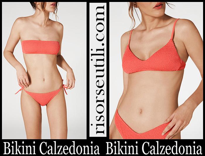 Bikinis Calzedonia Alice Swimwear Crinkled With Bow