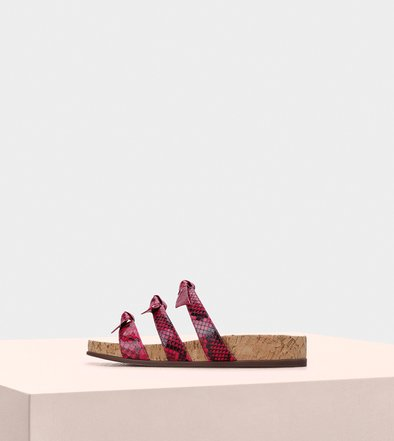 Sandals Birman Lolita Pool Monte Carlo Raspberry