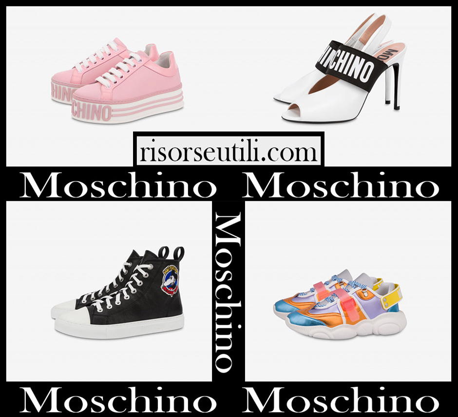 New arrivals Moschino shoes 2020 for women