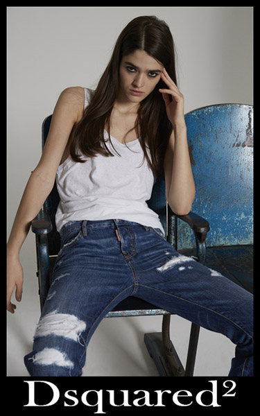 Denim clothing Dsquared² 2020 jeans for women 21