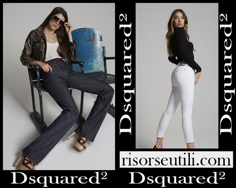 Denim clothing Dsquared² 2020 jeans for women