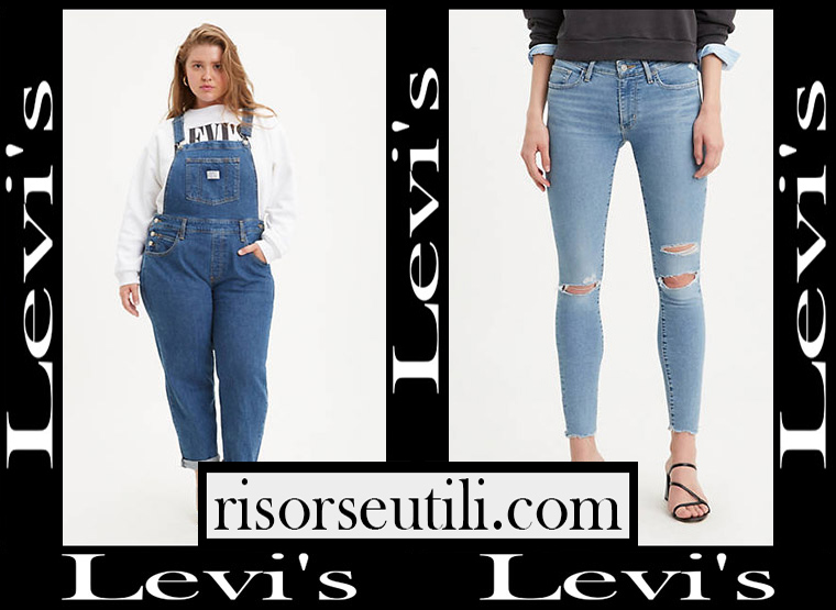 Denim clothing Levis 2020 jeans for women