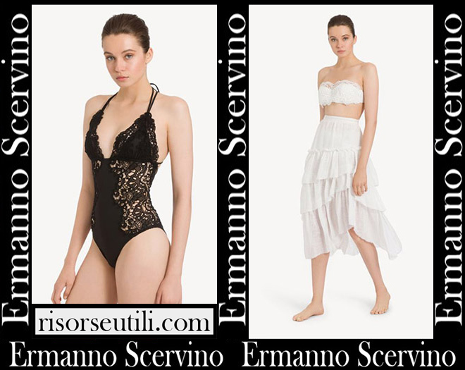 Ermanno Scervino beachwear 2020 bikinis swimsuit