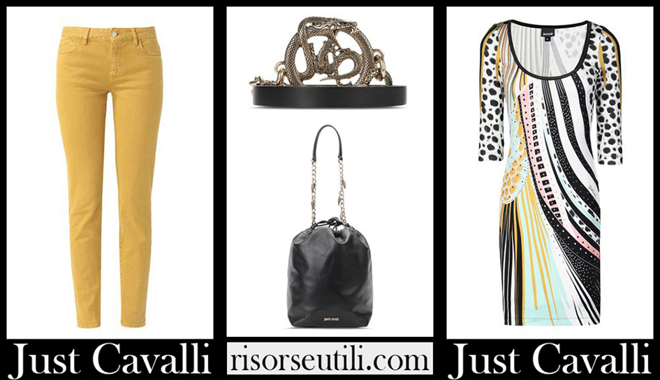 Just Cavalli clothing 2020 new arrivals for women