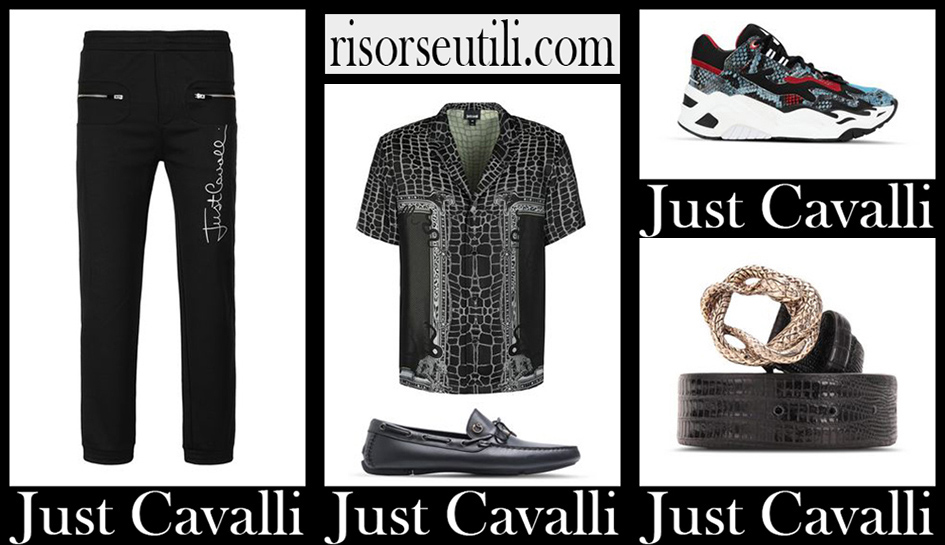 Just Cavalli fashion 2020 new arrivals for men