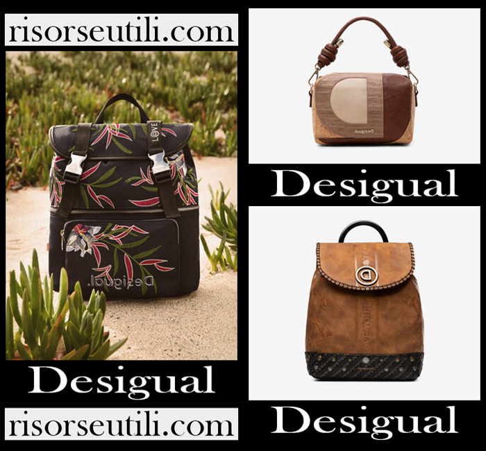 New arrivals Desigual bags 2020 for women