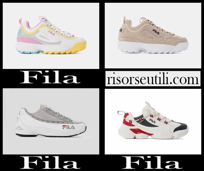 New arrivals Fila shoes 2020 sneakers for women