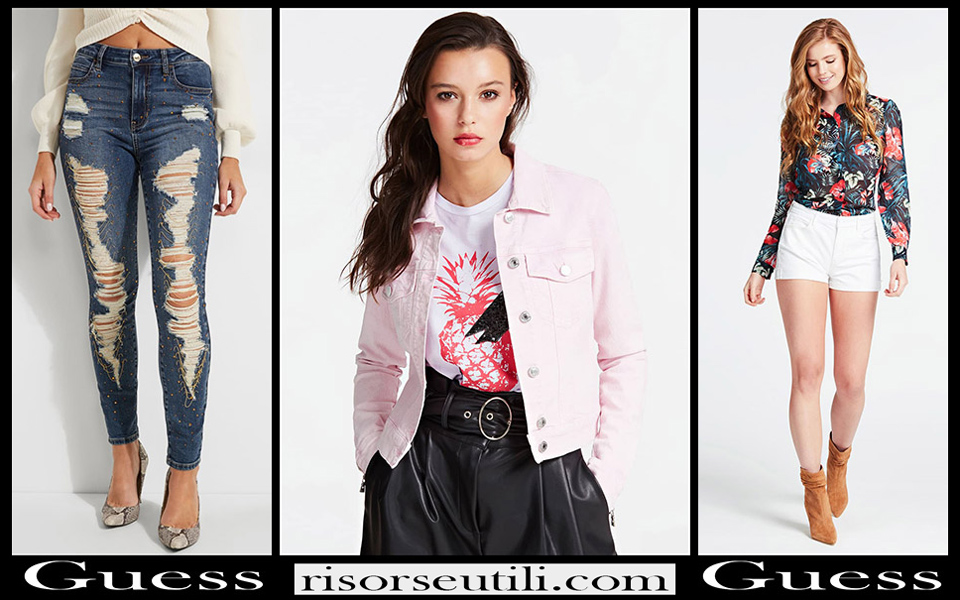 New arrivals Guess denim 2020 for women
