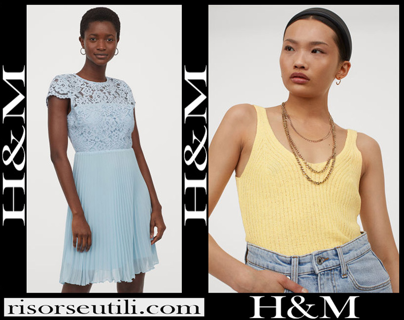 New arrivals HM clothing 2020 for women