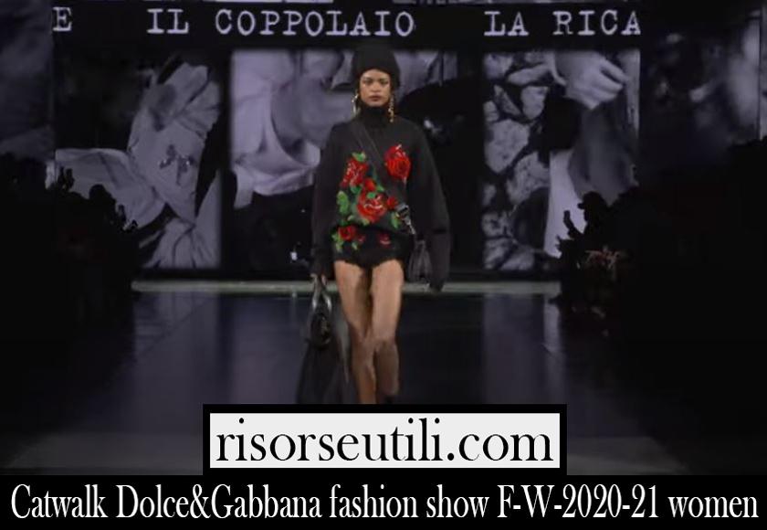 Runway Dolce Gabbana F W 2020 21 womens fashion show