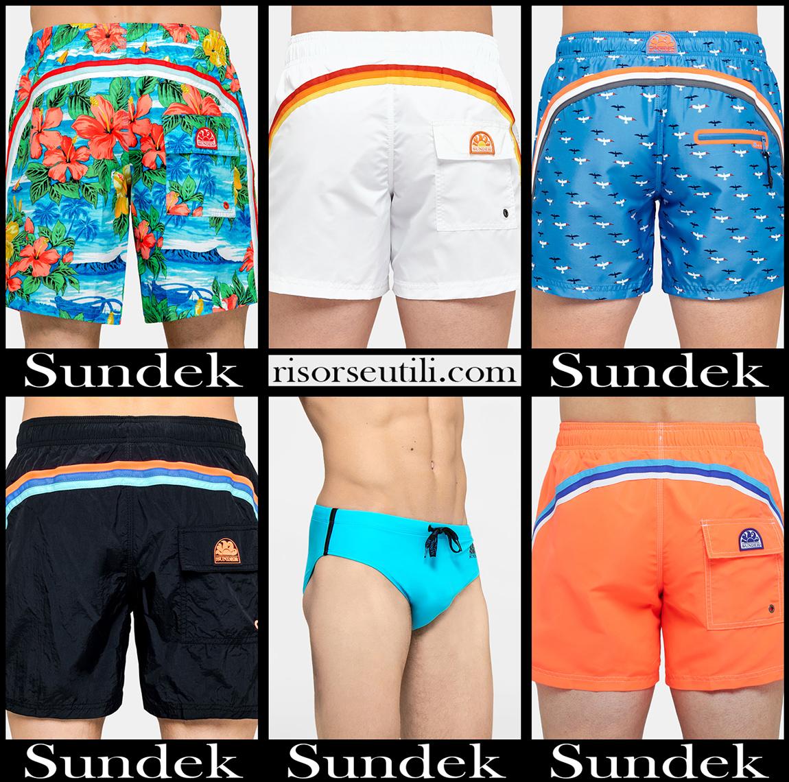 Sundek boardshorts 2020 accessories mens swimwear
