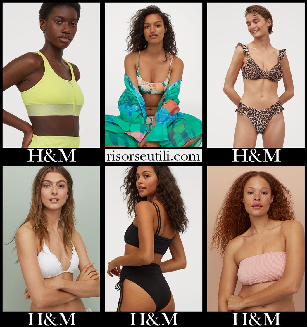 HM bikinis 2020 accessories womens swimwear