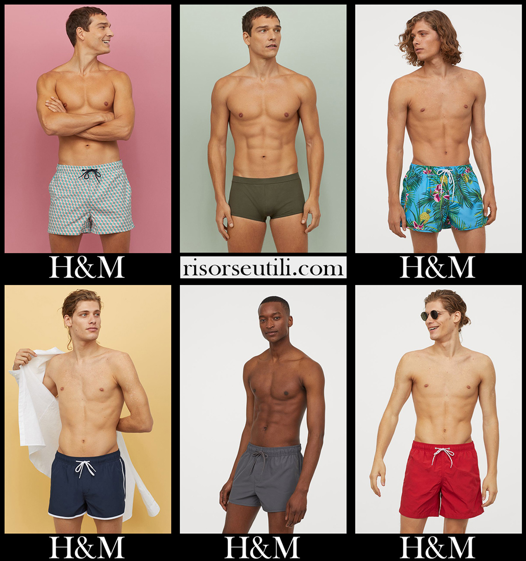 HM boardshorts 2020 accessories mens swimwear