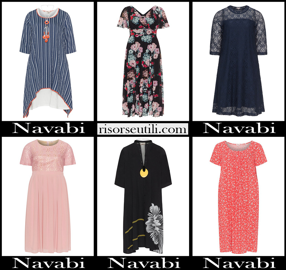 Navabi Curvy dresses 2020 womens plus size clothing