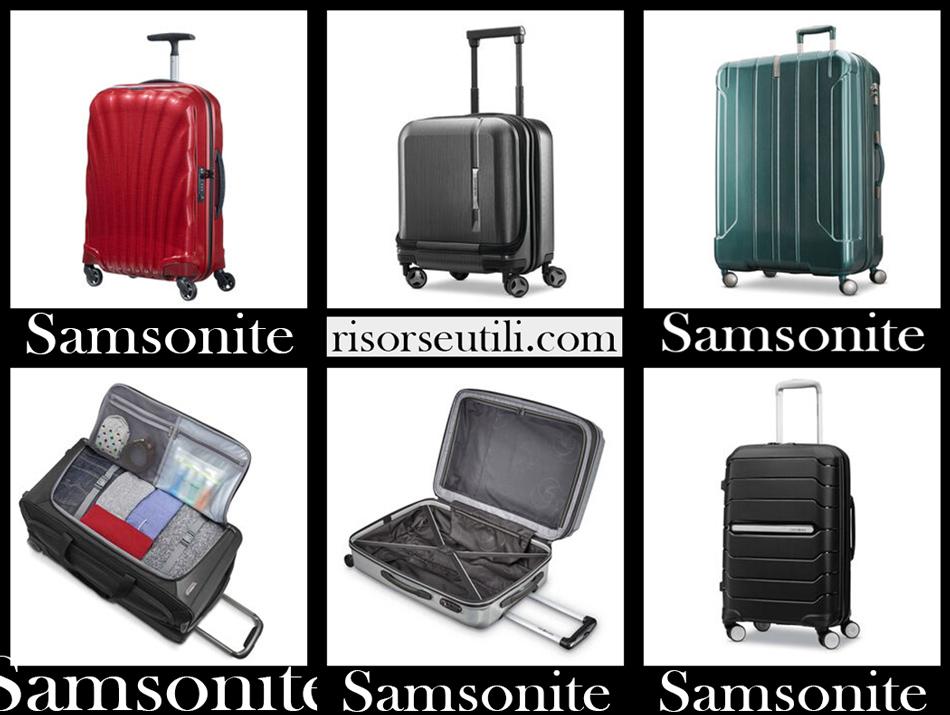 Samsonite suitcases 2020 new arrivals travel bags