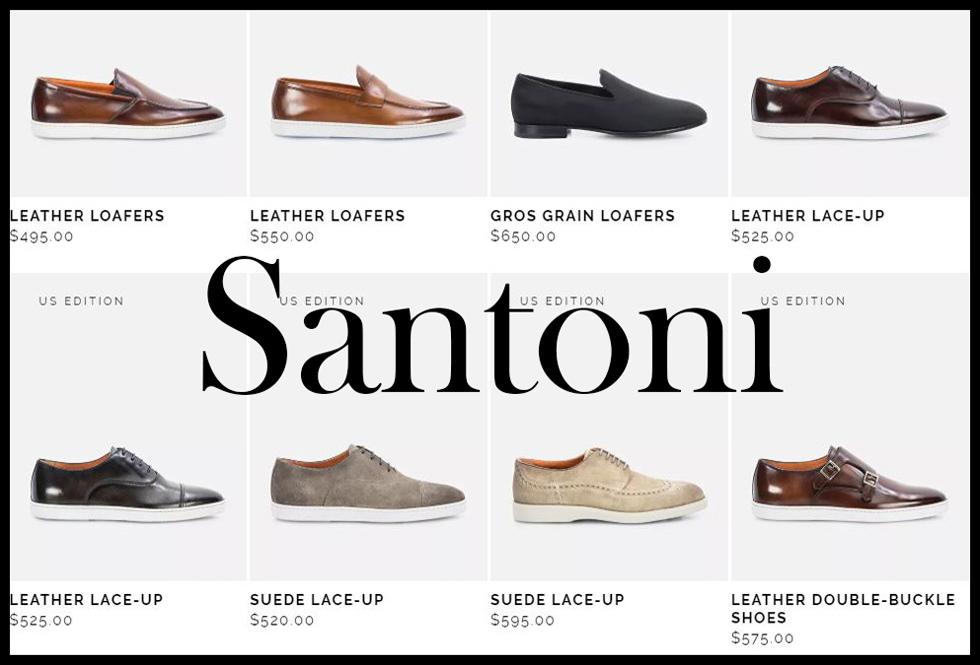 Santoni shoes 2020 new arrivals mens footwear 1