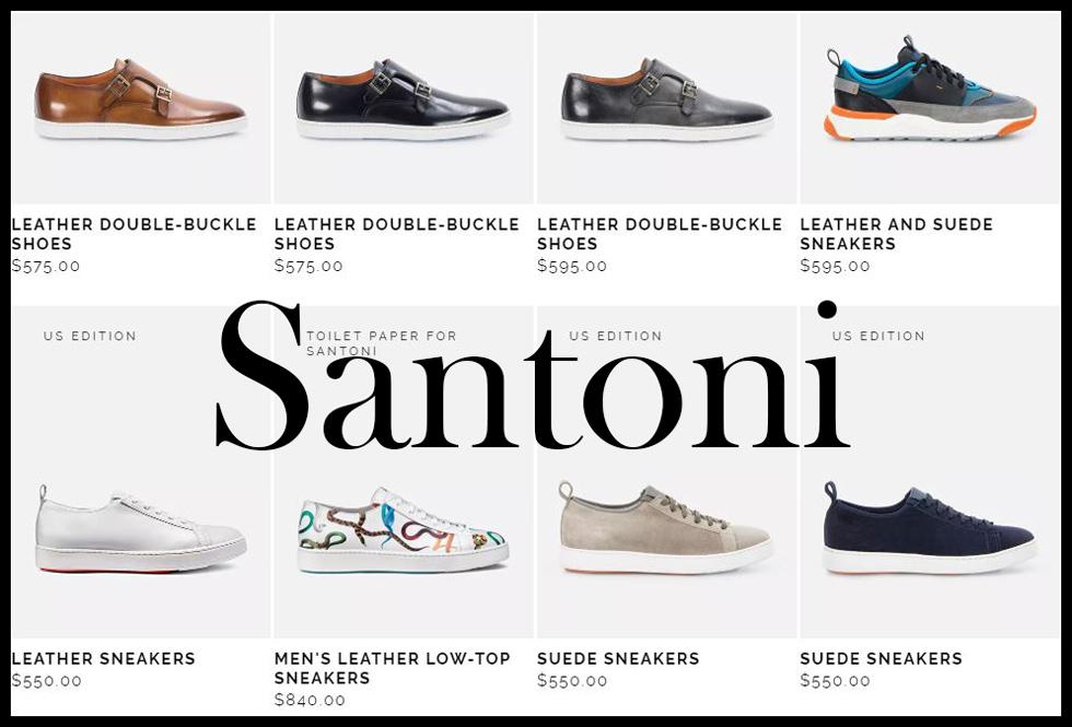 Santoni shoes 2020 new arrivals mens footwear 2