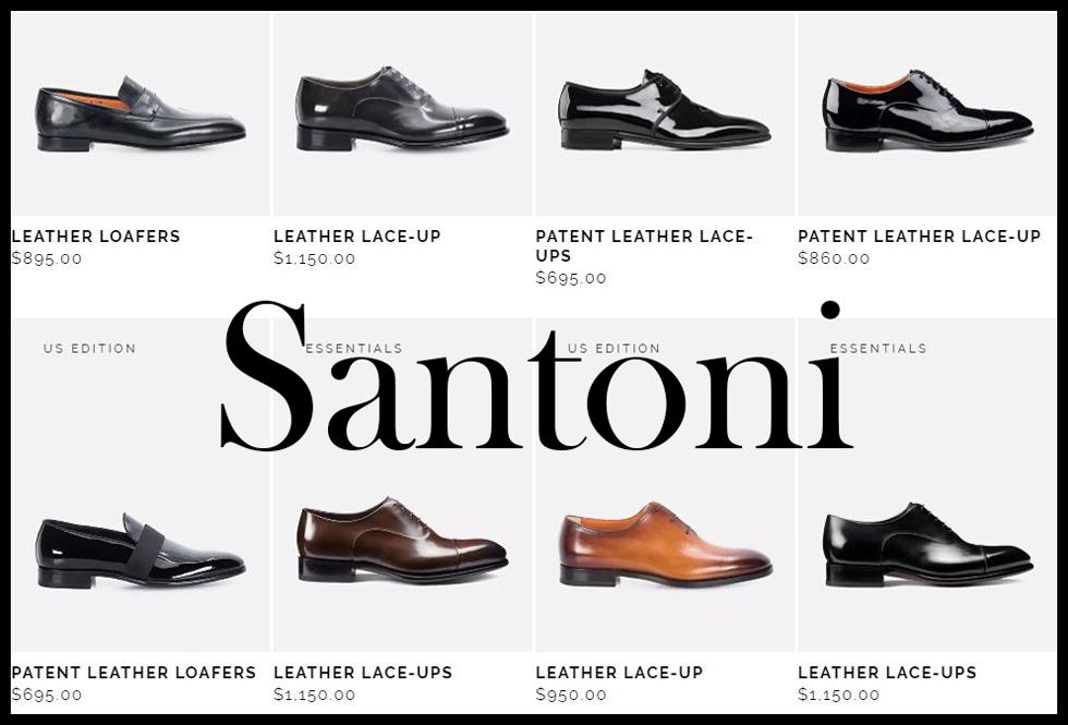 Santoni shoes 2020 new arrivals mens footwear 5