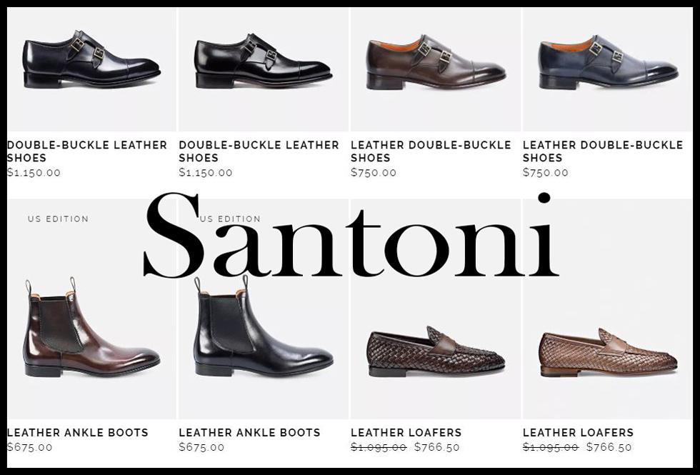 Santoni shoes 2020 new arrivals mens footwear 7