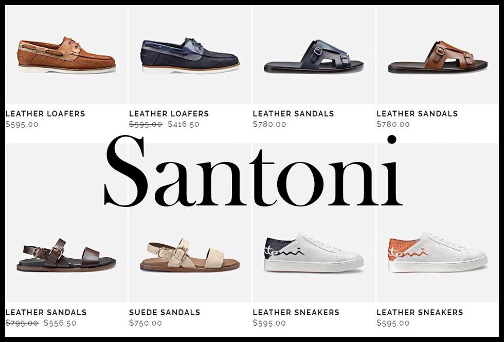 Santoni shoes 2020 new arrivals mens footwear 8