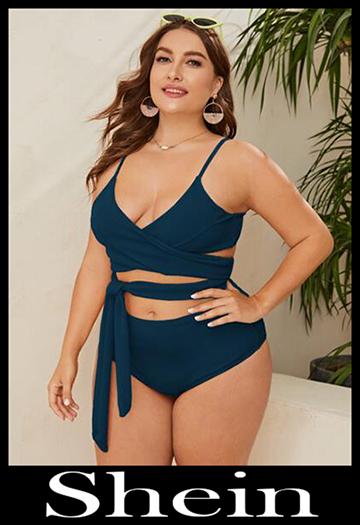 Shein Curvy 2020 bikinis plus size swimwear summer 18